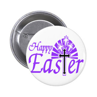 Easter Cross 2 Inch Round Button