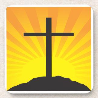 Easter Cross Coaster