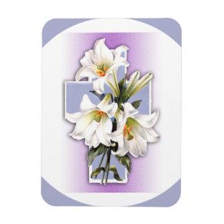 Easter Cross Custom Photo Magnet