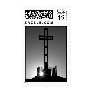Easter Cross Postage Stamp