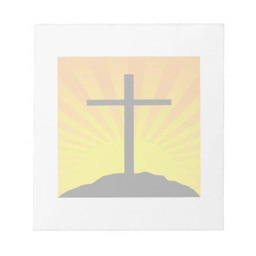 Easter Cross Scratch Pads