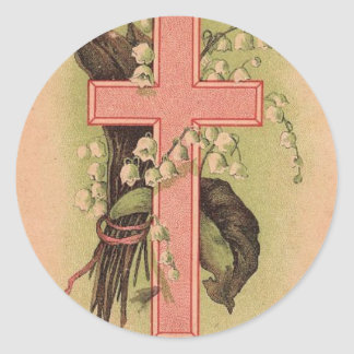 Easter Cross sticker