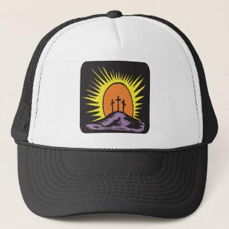 Easter Cross Trucker Hat