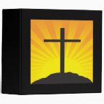 Easter Cross Vinyl Binders