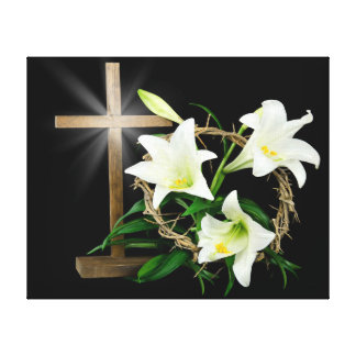 Easter Crown Canvas Print