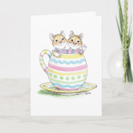 Easter Cup Couple Card