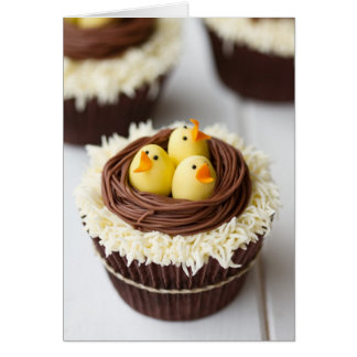 Easter Cupcakes Card