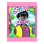 Easter Dachshund Post Cards
