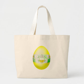 Easter Daisy Tote Bags