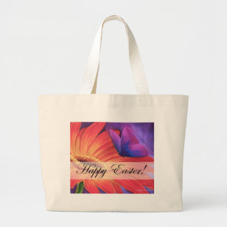 Easter Day Products Daisy Flower Art - Multi Large Tote Bag