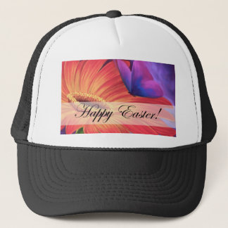Easter Day Products Daisy Flower Art - Multi Trucker Hat