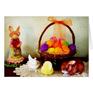 Easter Decorations Card