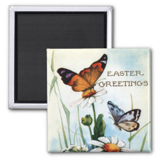 Easter Decorations Kitchen Gift Products 2 Inch Square Magnet