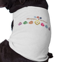 Easter Design Doggie Ribbed Tank Top