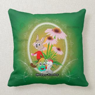 Easter design throw pillows