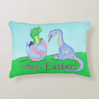 Easter Dinos Decorative Pillow