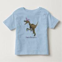 easter dinosaur toddler t-shirt