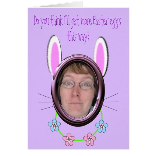 Easter disguise cards