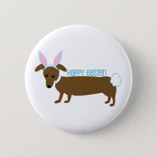 Easter Doggie Button