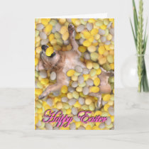 Easter Doggy Holiday Card