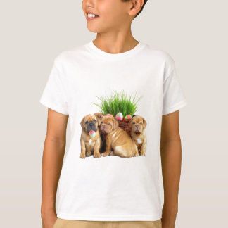Easter Dogue de Bordeaux pups T-Shirt