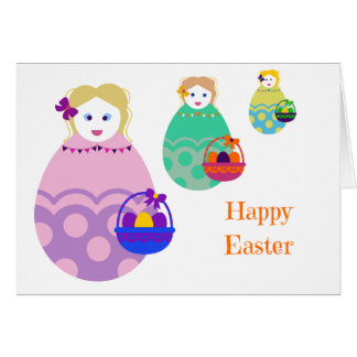 Easter Doll Card
