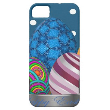 Professional Business easter, dots, strip, elegant, eggs iPhone SE/5/5s case