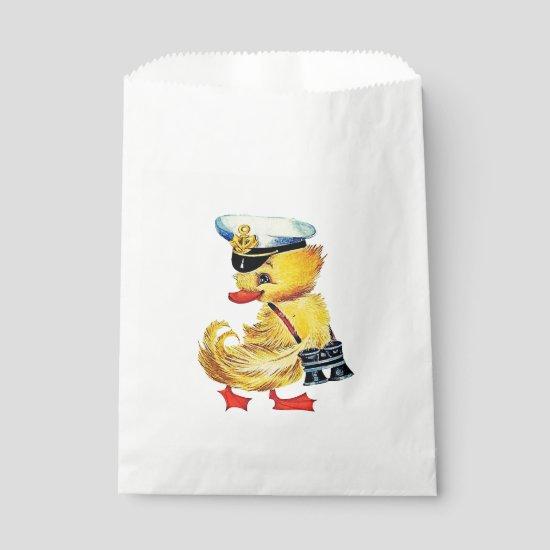 Easter Duck Favor Bag