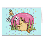 Easter Duck Greeting Card