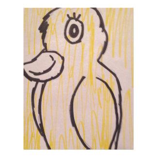 easter duck letterhead