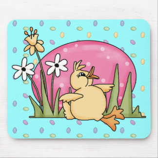 Easter Duck Mouse Mats