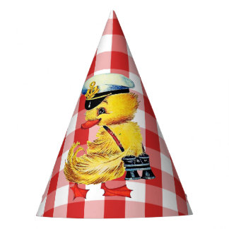 Easter Duck Party Hat