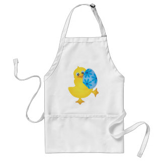 Easter Duckling Carrying Egg Apron