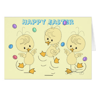 Easter Ducklings Greeting Cards, Post Cards, Note Card