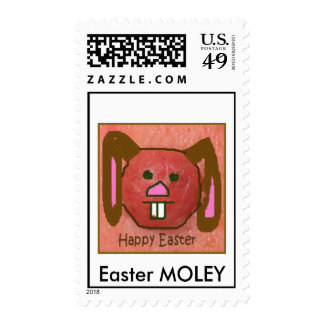easter, Easter MOLEY Stamps