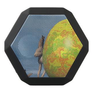 Easter egg - 3D render Black Bluetooth Speaker
