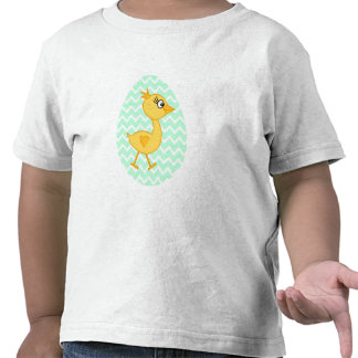 Easter Egg and Cute Chick. Tees