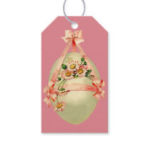 Easter Egg and Daisies Gift Tags