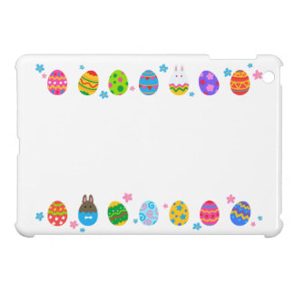 < Easter egg and rabbit side line > Easter Eggs & iPad Mini Covers