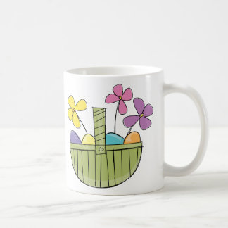 Easter Egg Basket Classic White Coffee Mug