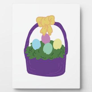 Easter Egg Basket Plaques
