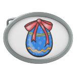 Easter egg belt buckle
