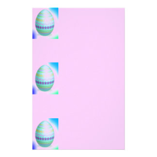 Easter Egg Blues Stationery