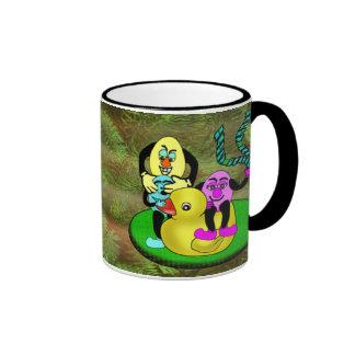 Easter Egg Buddies Ringer Mug