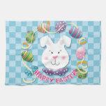 Easter Egg Bunny Kitchen Towel