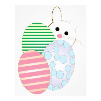 Easter Egg Bunny Letterhead
