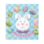 Easter Egg Bunny Memo Note Pads
