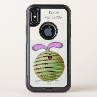 Easter Egg-bunny OtterBox Commuter iPhone X Case