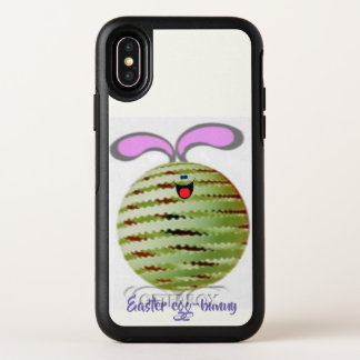 Easter Egg-bunny OtterBox Symmetry iPhone X Case