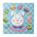 Easter Egg Bunny Tiles